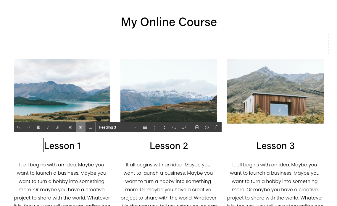 Ss online course