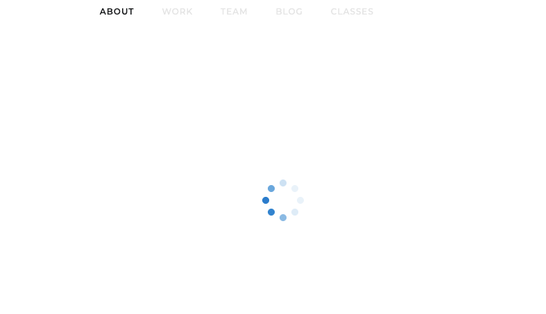 Webflow whiteout page