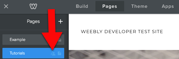 Weebly members icon